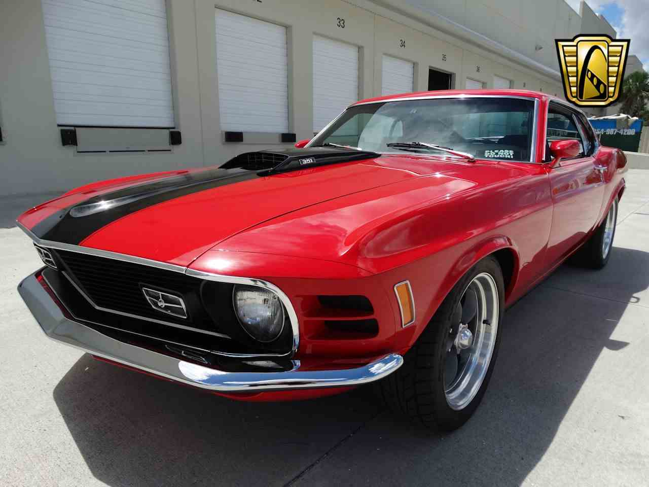 Large Picture of '70 Ford Mustang located in Coral Springs Florida Offered by Gateway Classic Cars - Fort Lauderdale - LG4A