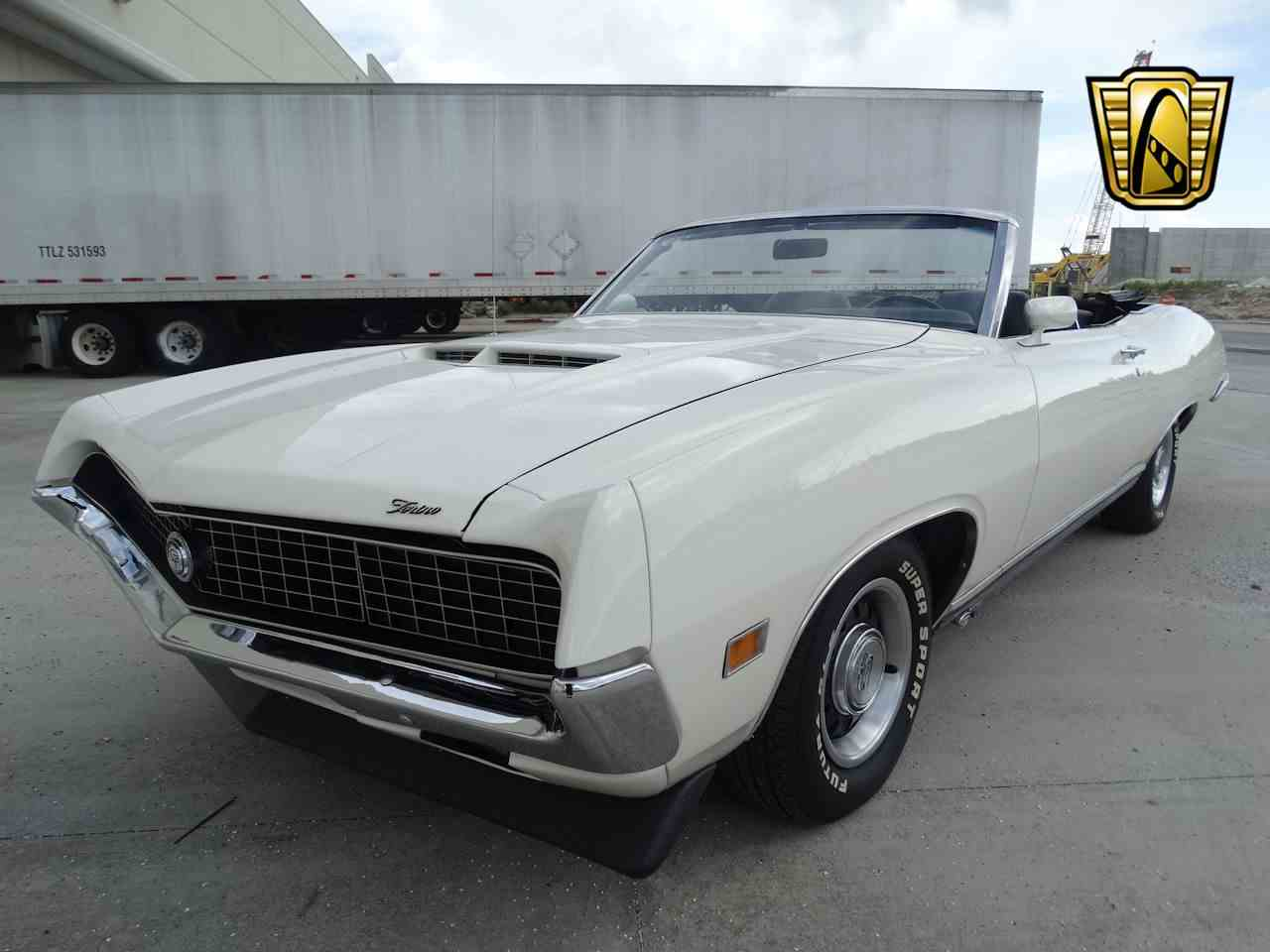 Large Picture of 1971 Ford Torino located in Coral Springs Florida - $68,000.00 Offered by Gateway Classic Cars - Fort Lauderdale - LG4B