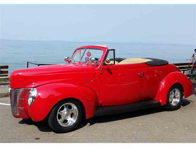Picture of '40 Deluxe Convertible Coupe - LKX0