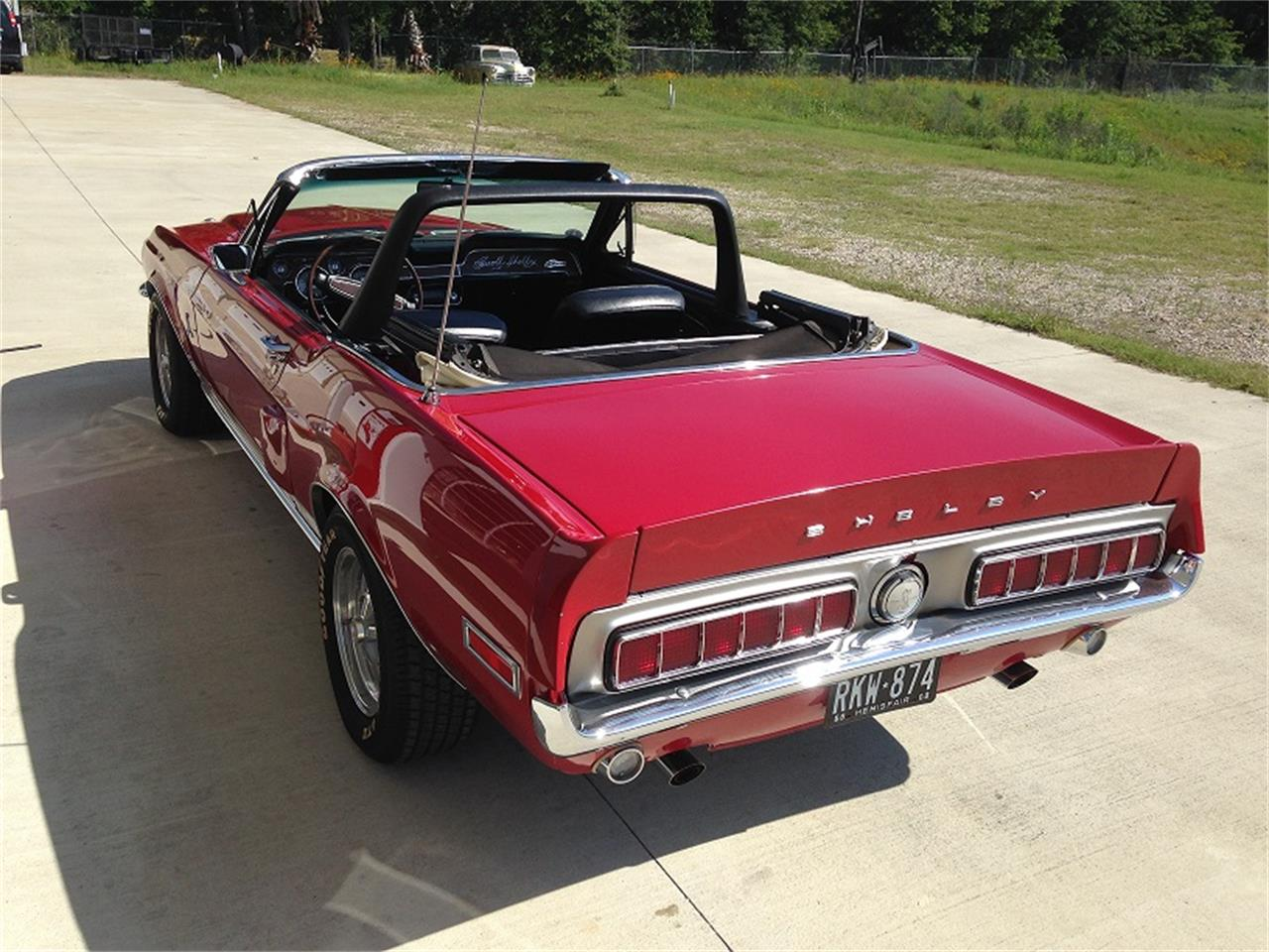 Cars For Sale In Houston: 1968 Shelby GT500 For Sale
