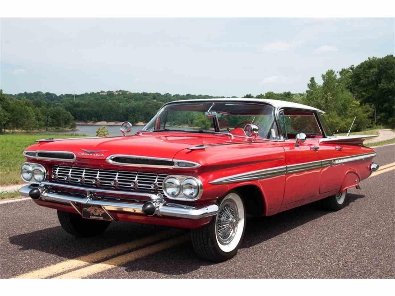 1959 chevrolet impala for sale cc 1000697. Black Bedroom Furniture Sets. Home Design Ideas