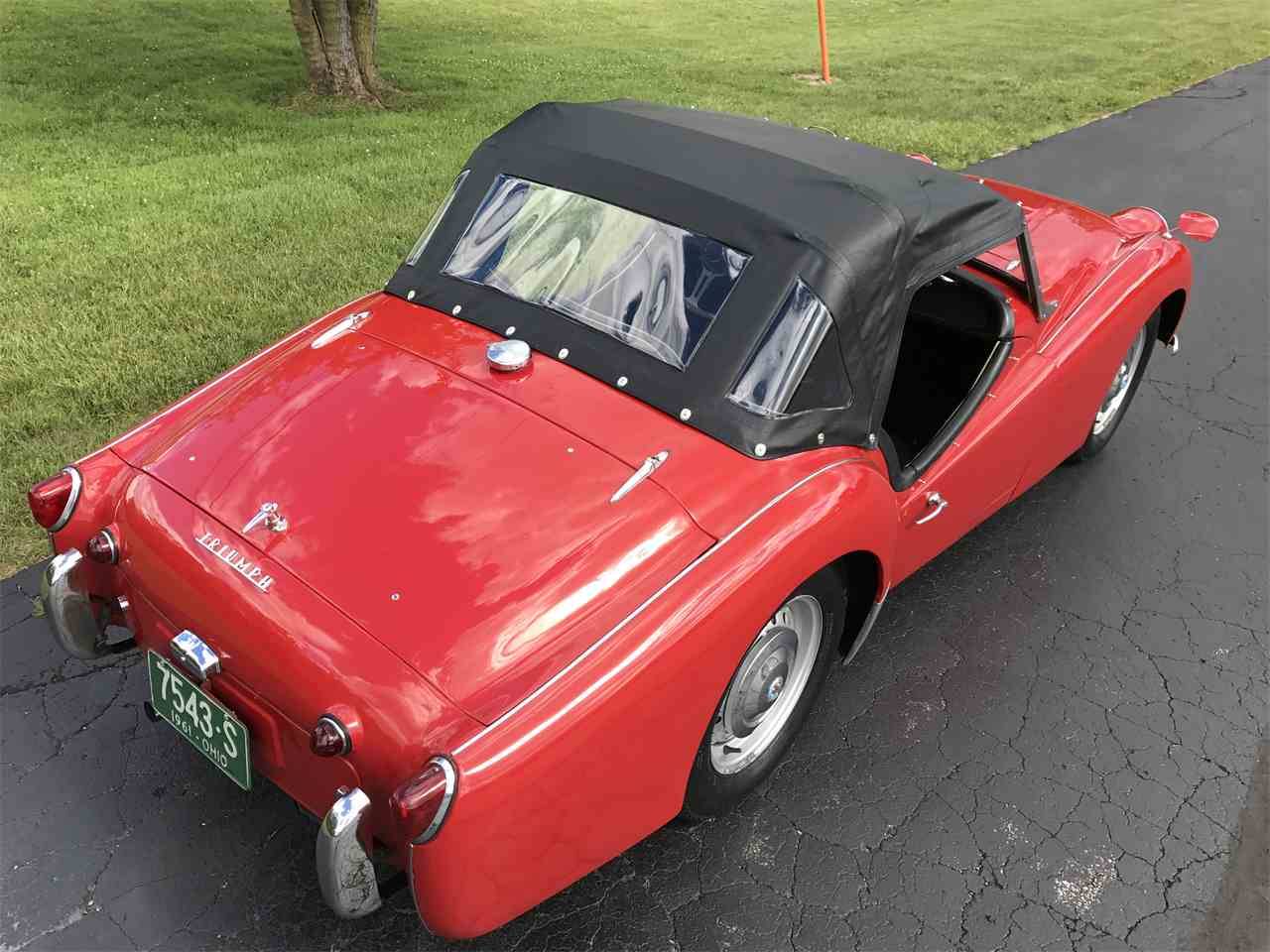 Large Picture of '59 TR3A - LFLZ