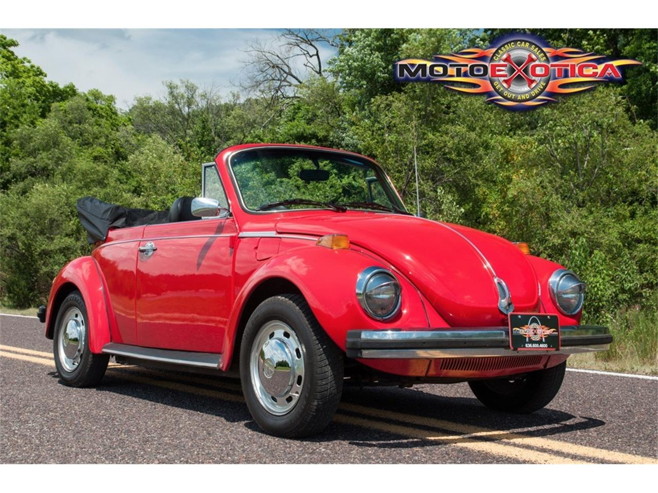 Large Picture of '78 Volkswagen Super Beetle located in Missouri Offered by MotoeXotica Classic Cars - LG5A