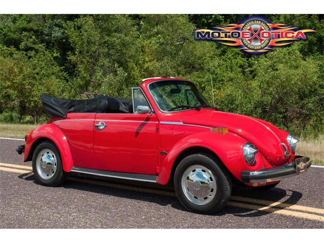 Large Picture of '78 Volkswagen Super Beetle - $17,900.00 Offered by MotoeXotica Classic Cars - LG5A
