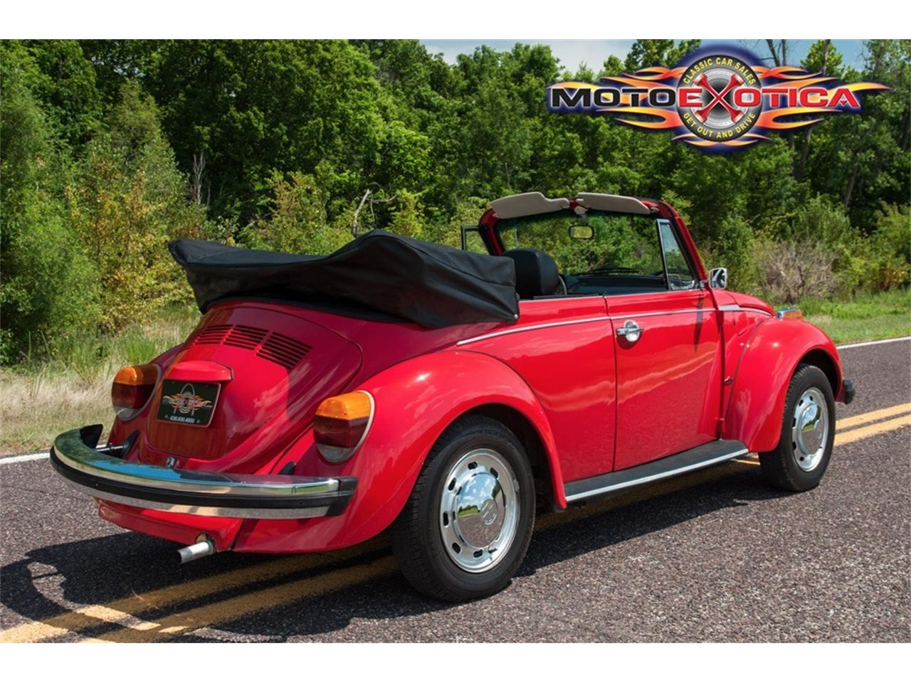 Large Picture of 1978 Volkswagen Super Beetle - $17,900.00 Offered by MotoeXotica Classic Cars - LG5A