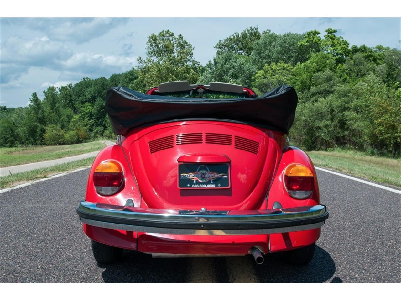 Large Picture of 1978 Super Beetle located in Missouri - $17,900.00 Offered by MotoeXotica Classic Cars - LG5A