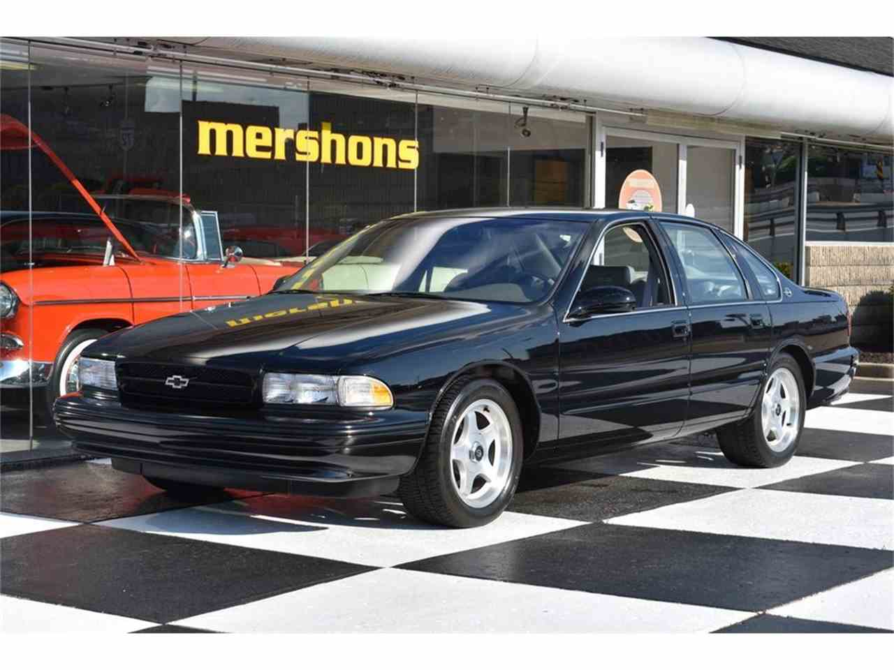 1996 chevrolet impala ss for sale cc 1007074. Black Bedroom Furniture Sets. Home Design Ideas