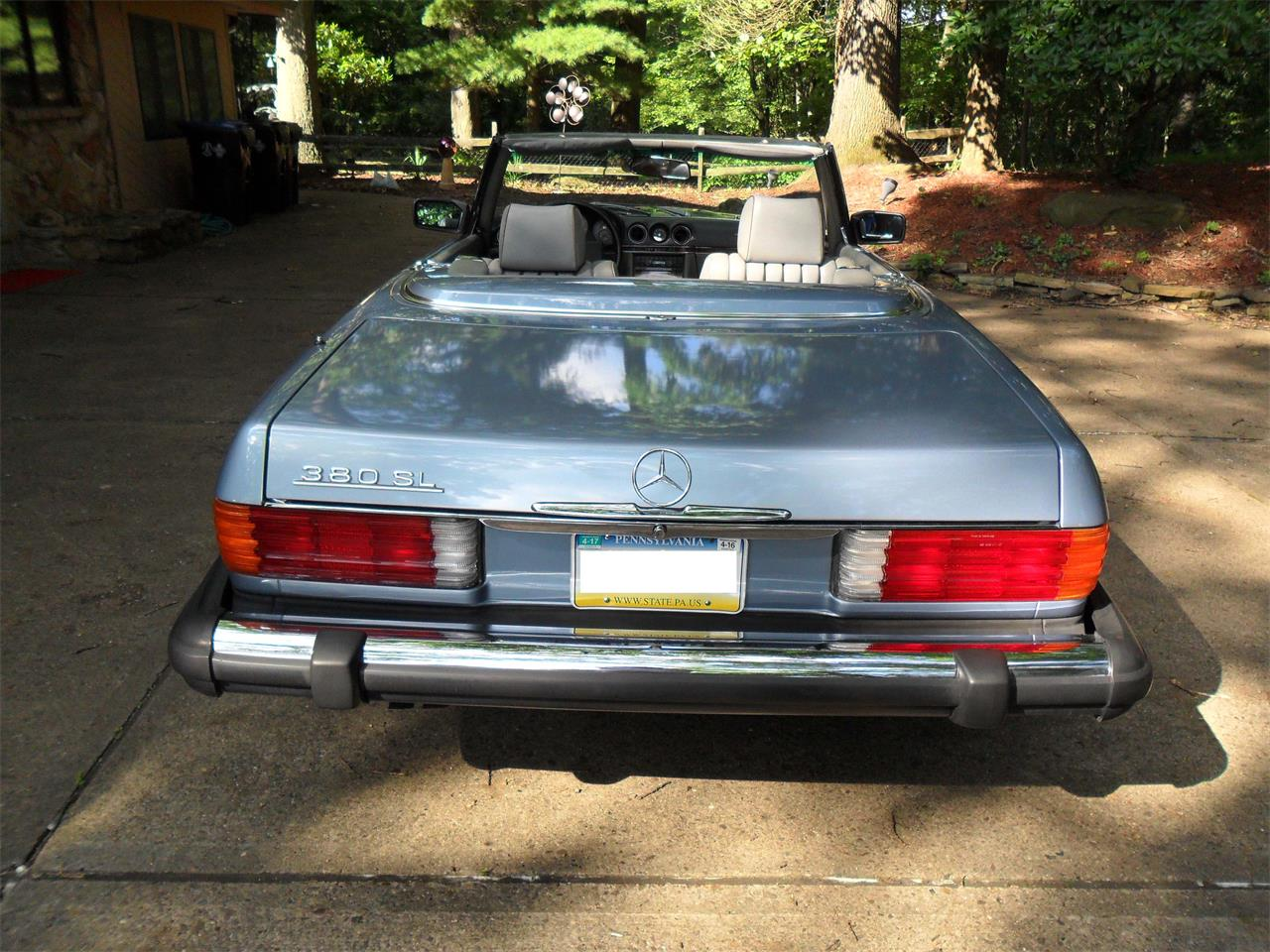 Large Picture of '85 380SL - LL68