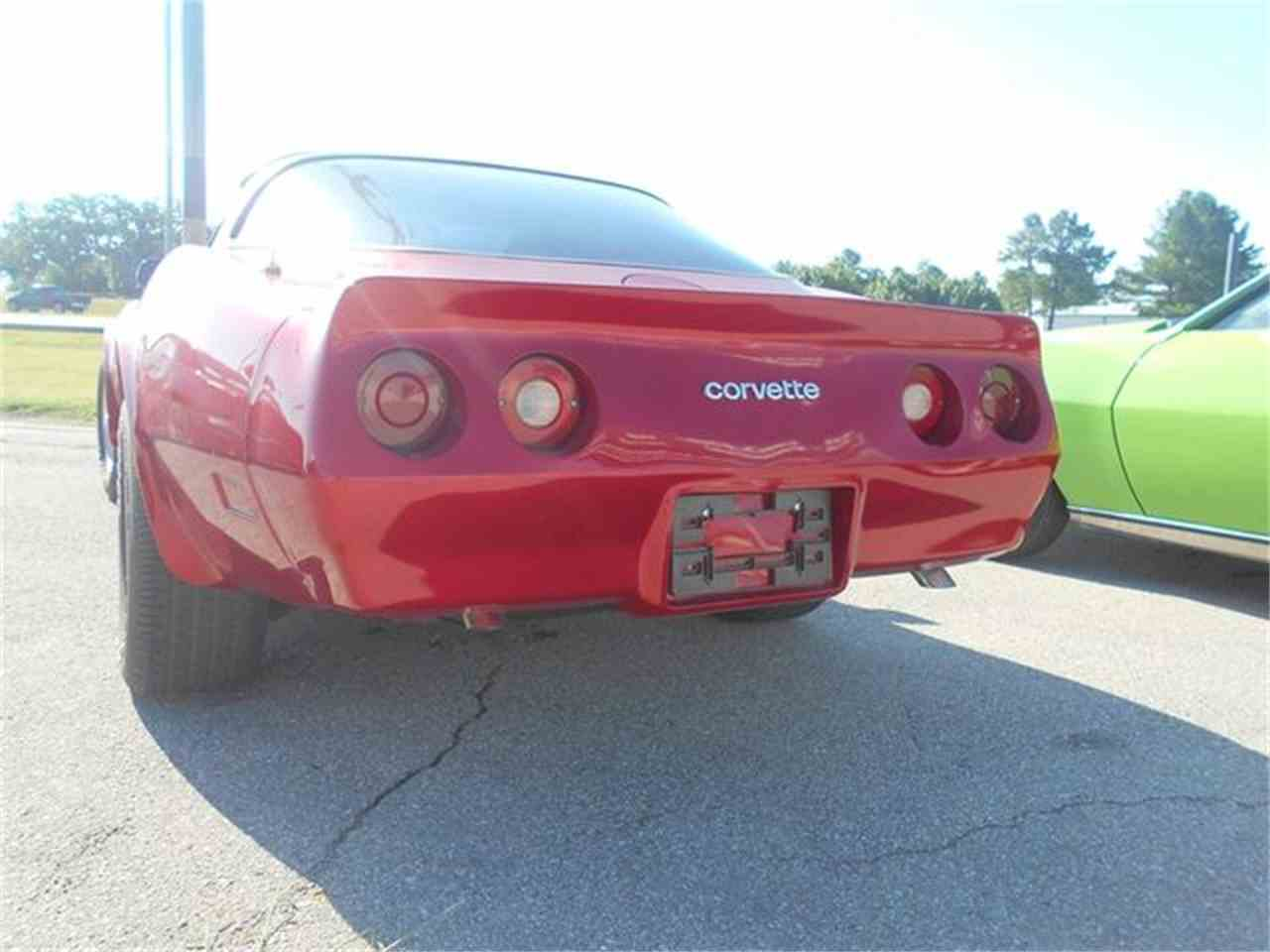 Large Picture of '82 Corvette located in Blanchard Oklahoma Offered by Knippelmier Classics - LG65