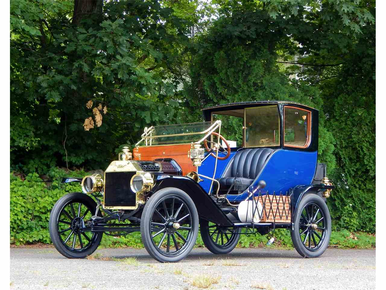1909 ford model t town car for sale cc 1007409. Black Bedroom Furniture Sets. Home Design Ideas