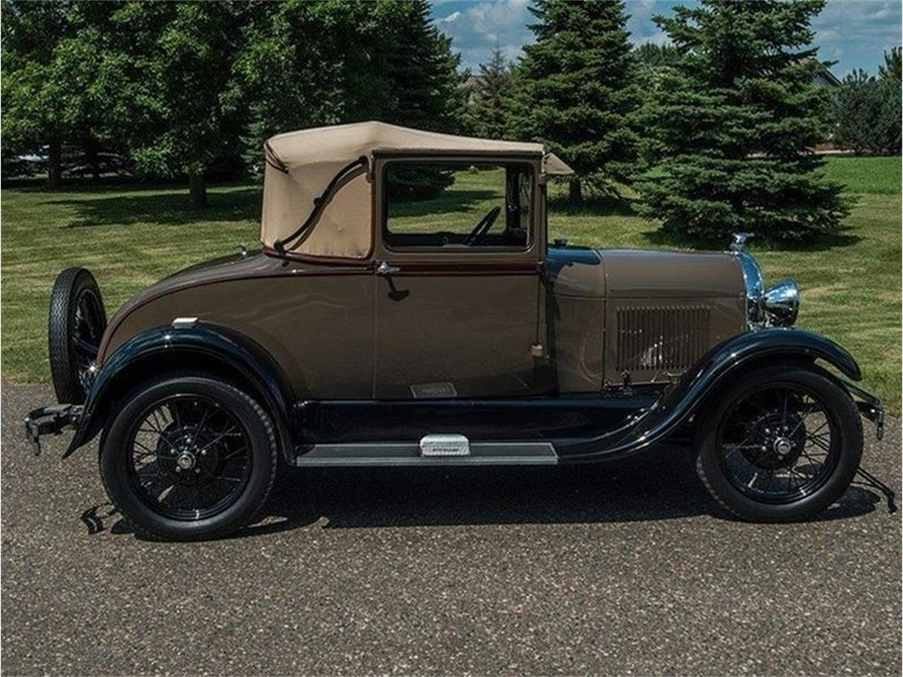 Large Picture of '29 Model A - LLGU