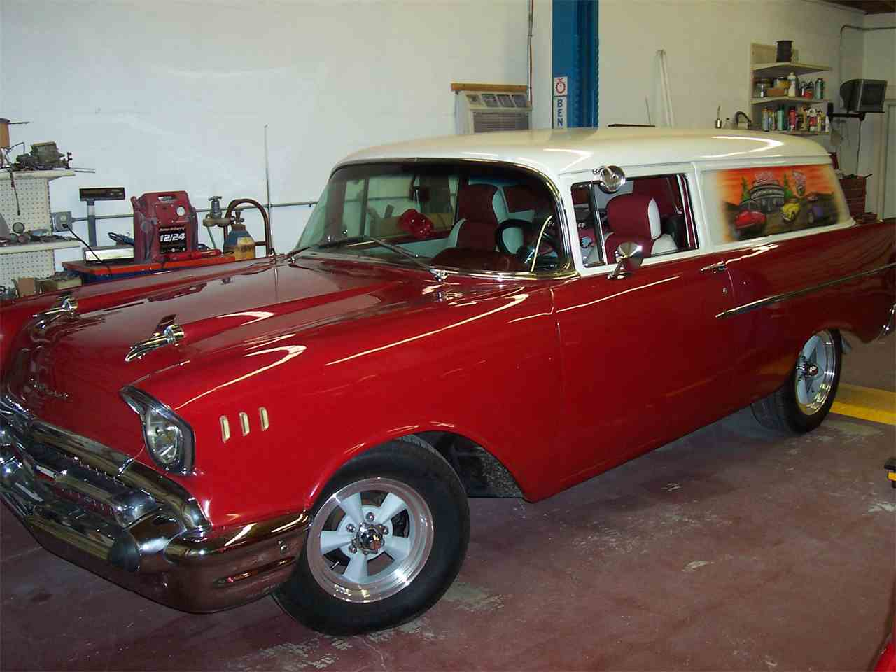 Large Picture of Classic '57 Sedan Delivery located in Port Charlotte Florida - $28,500.00 Offered by a Private Seller - LG73