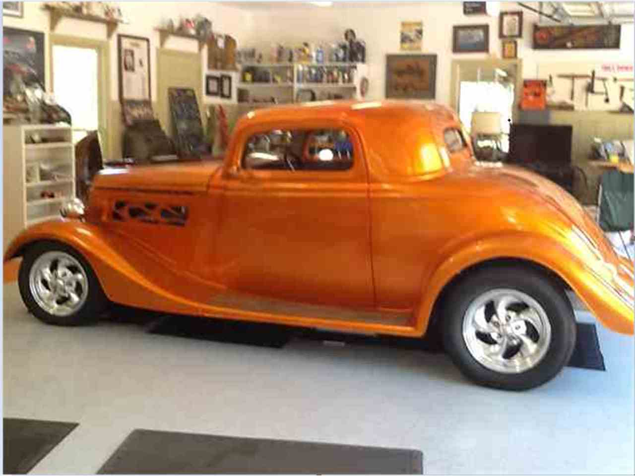 1934 ford 3 window coupe for sale cc 1007682. Black Bedroom Furniture Sets. Home Design Ideas