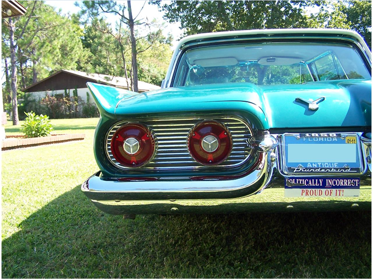 Large Picture of Classic '59 Thunderbird located in Florida Offered by a Private Seller - LLRY