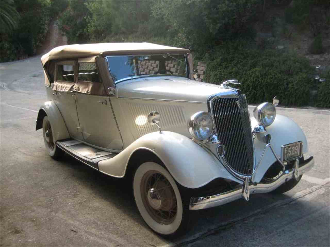1934 Ford Phaeton for Sale | ClassicCars.com | CC-1008032
