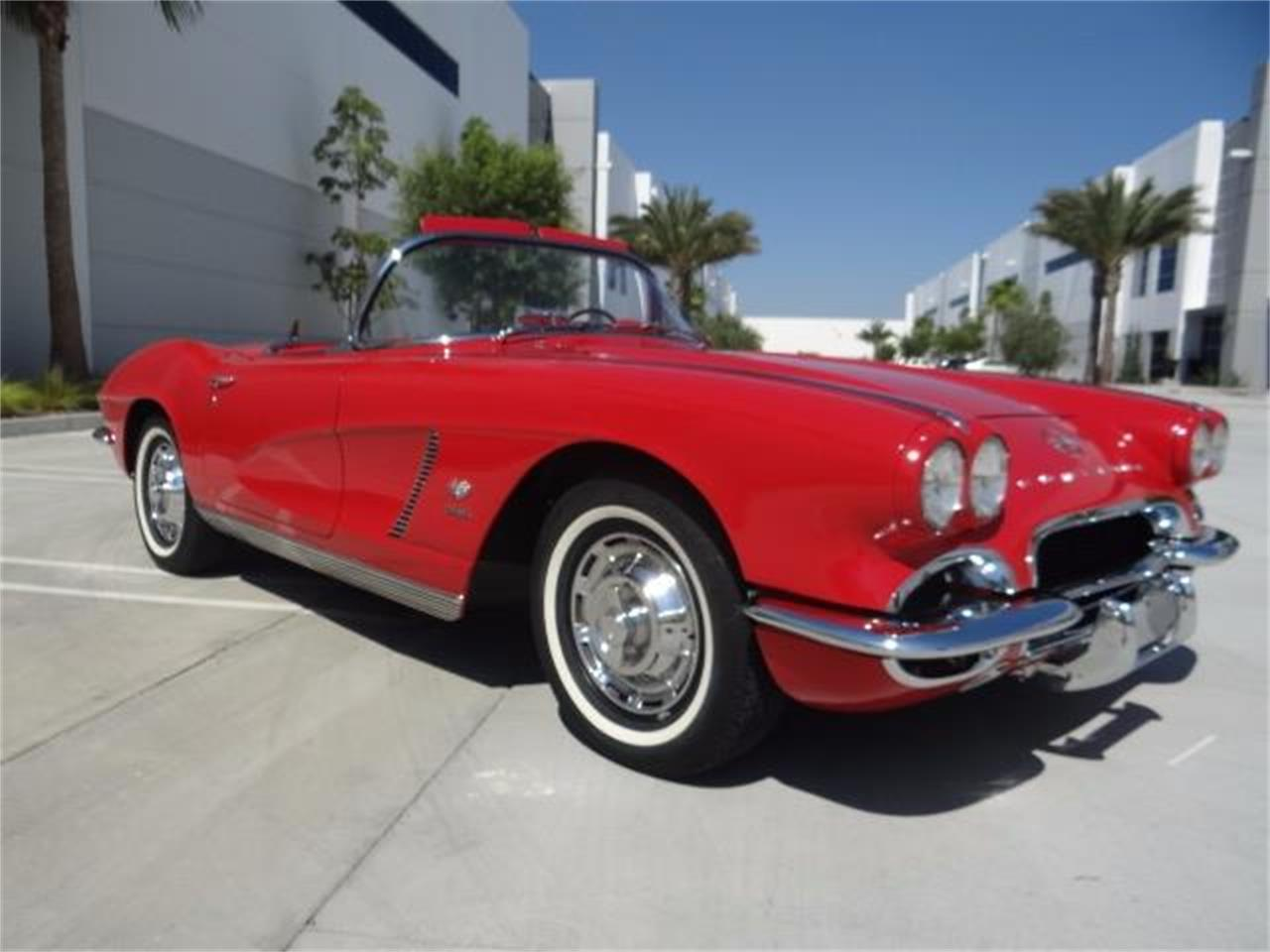 Large Picture of Classic 1962 Chevrolet Corvette located in California Offered by West Coast Corvettes - LG8T
