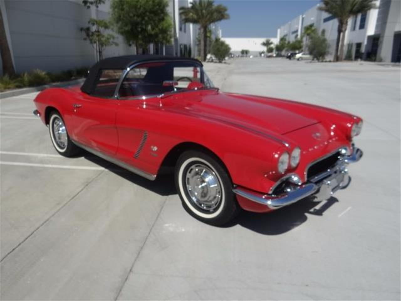 Large Picture of 1962 Chevrolet Corvette - LG8T