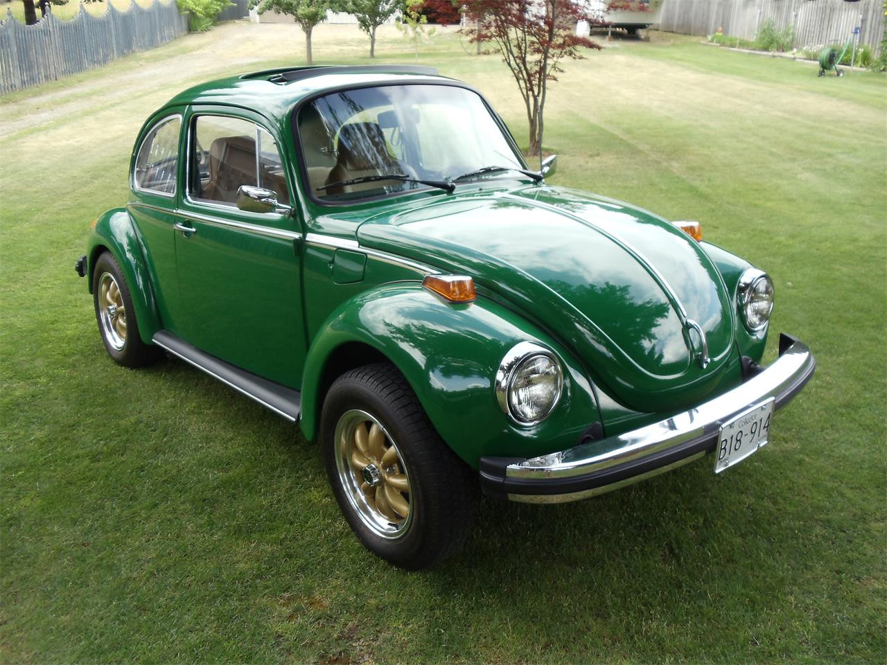 Large Picture of 1974 Volkswagen Super Beetle located in Creston British Columbia Offered by a Private Seller - LM0N