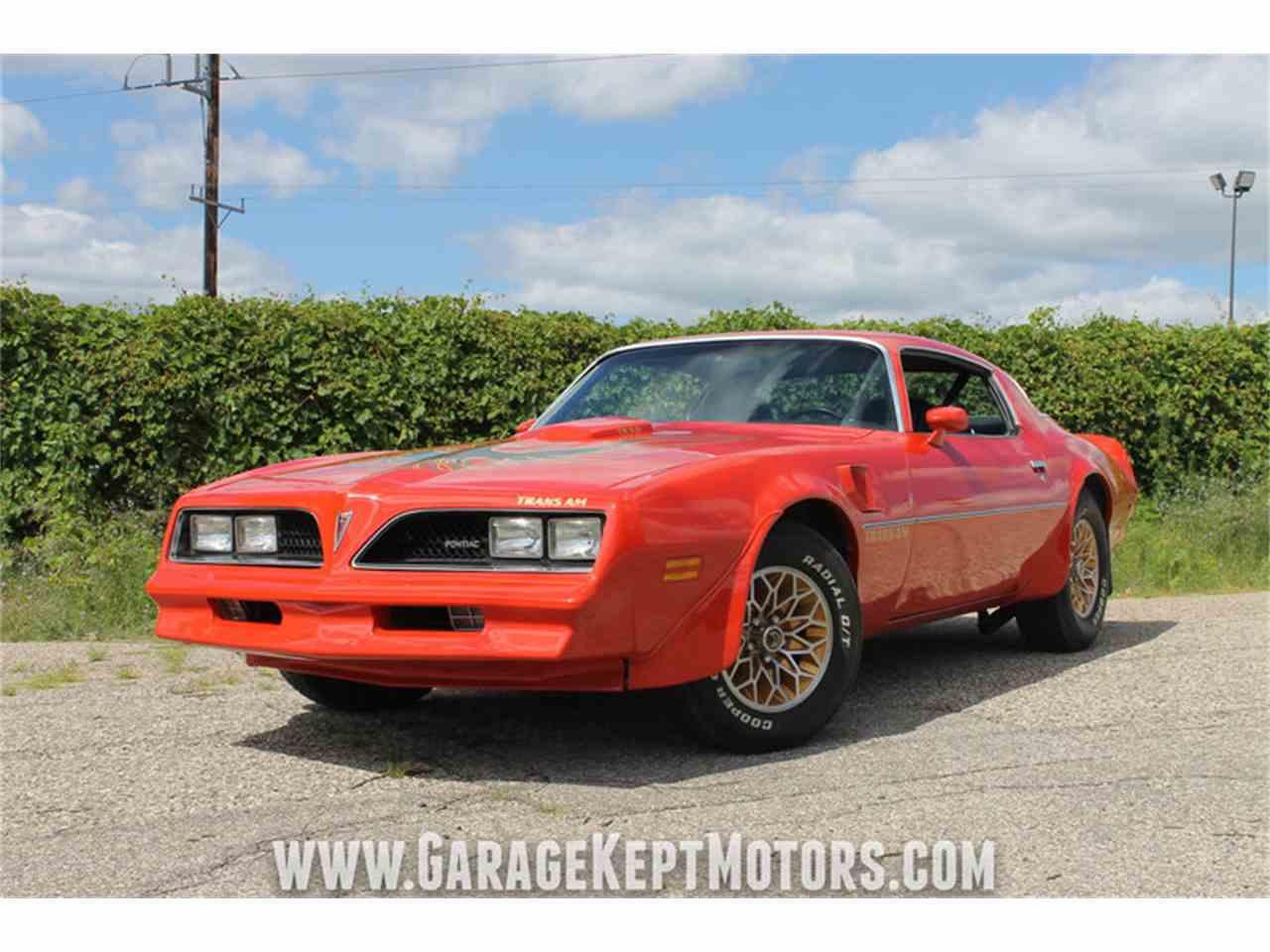 1978 Pontiac Firebird Trans Am For Sale Classiccars Com