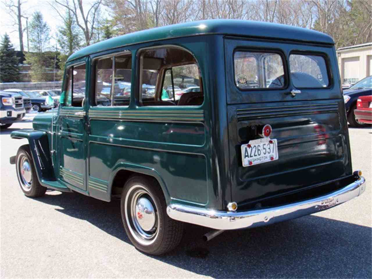Large Picture of Classic '50 Willys Jeep Wagon located in Massachusetts - $32,000.00 - LM4A