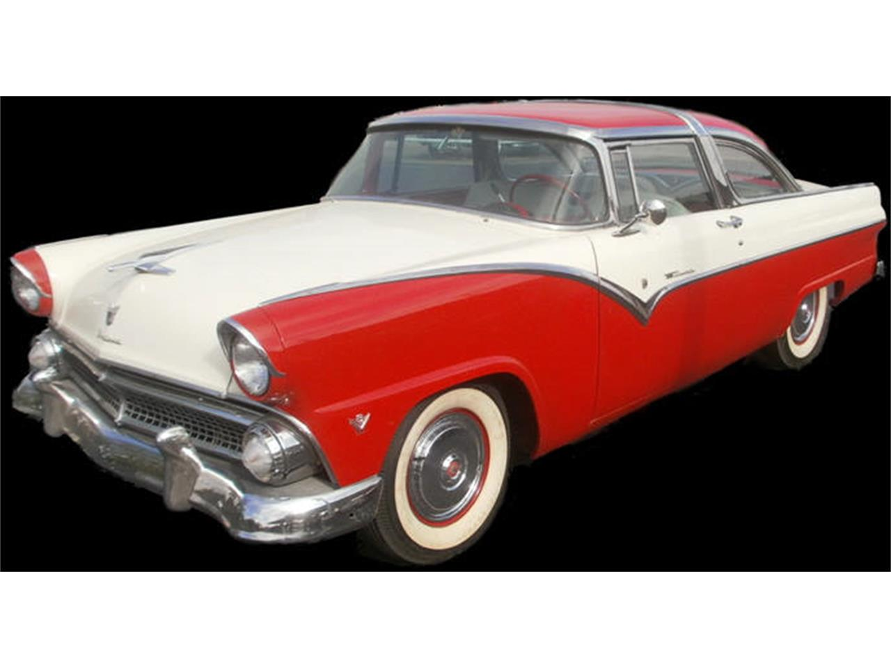 Large Picture of Classic 1955 Ford Crown Victoria located in Cleburne Texas - LG9Q