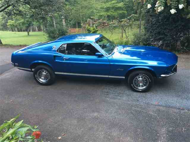 1969 ford mustang gt for sale on. Black Bedroom Furniture Sets. Home Design Ideas