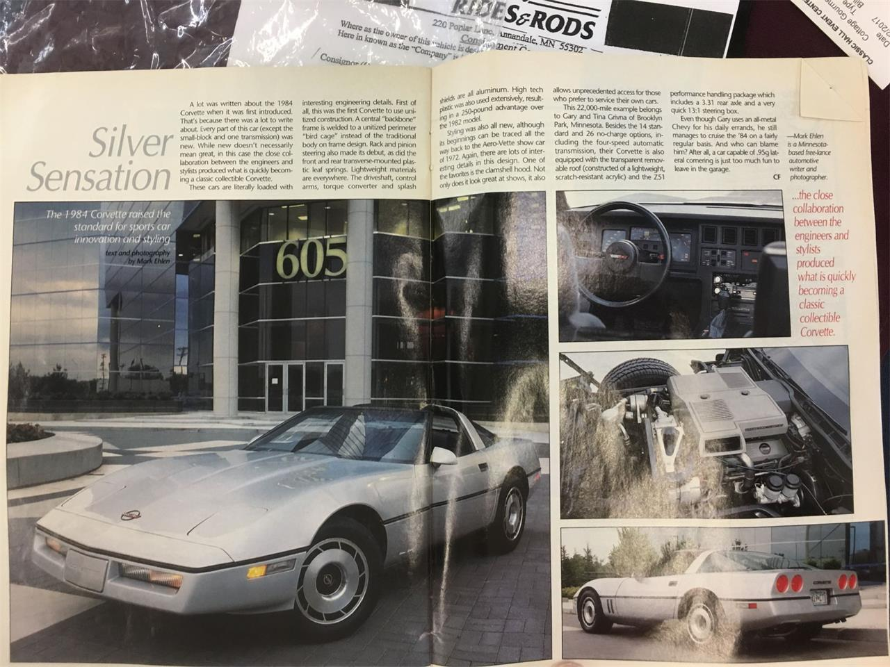 Large Picture of 1984 Chevrolet Corvette Offered by Classic Rides and Rods - LME4
