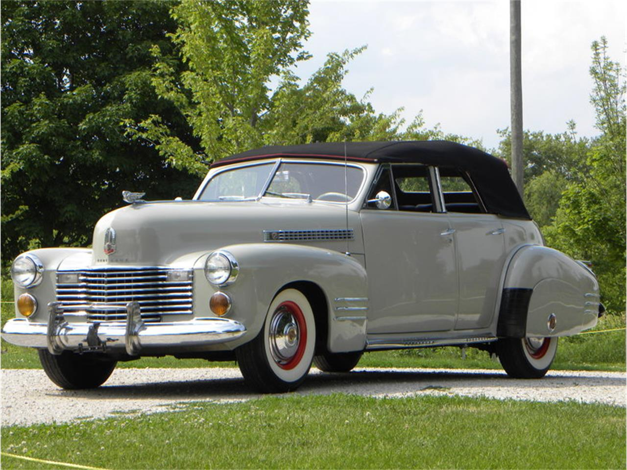 Large Picture of Classic '41 Series 41-62 Convertible Sedan Offered by Volo Auto Museum - LGAA