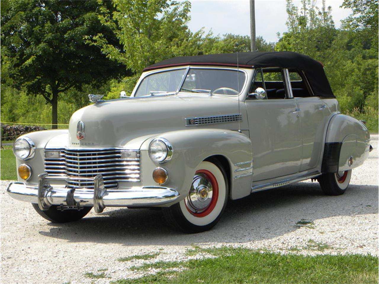 Large Picture of Classic '41 Cadillac Series 41-62 Convertible Sedan - $42,500.00 - LGAA