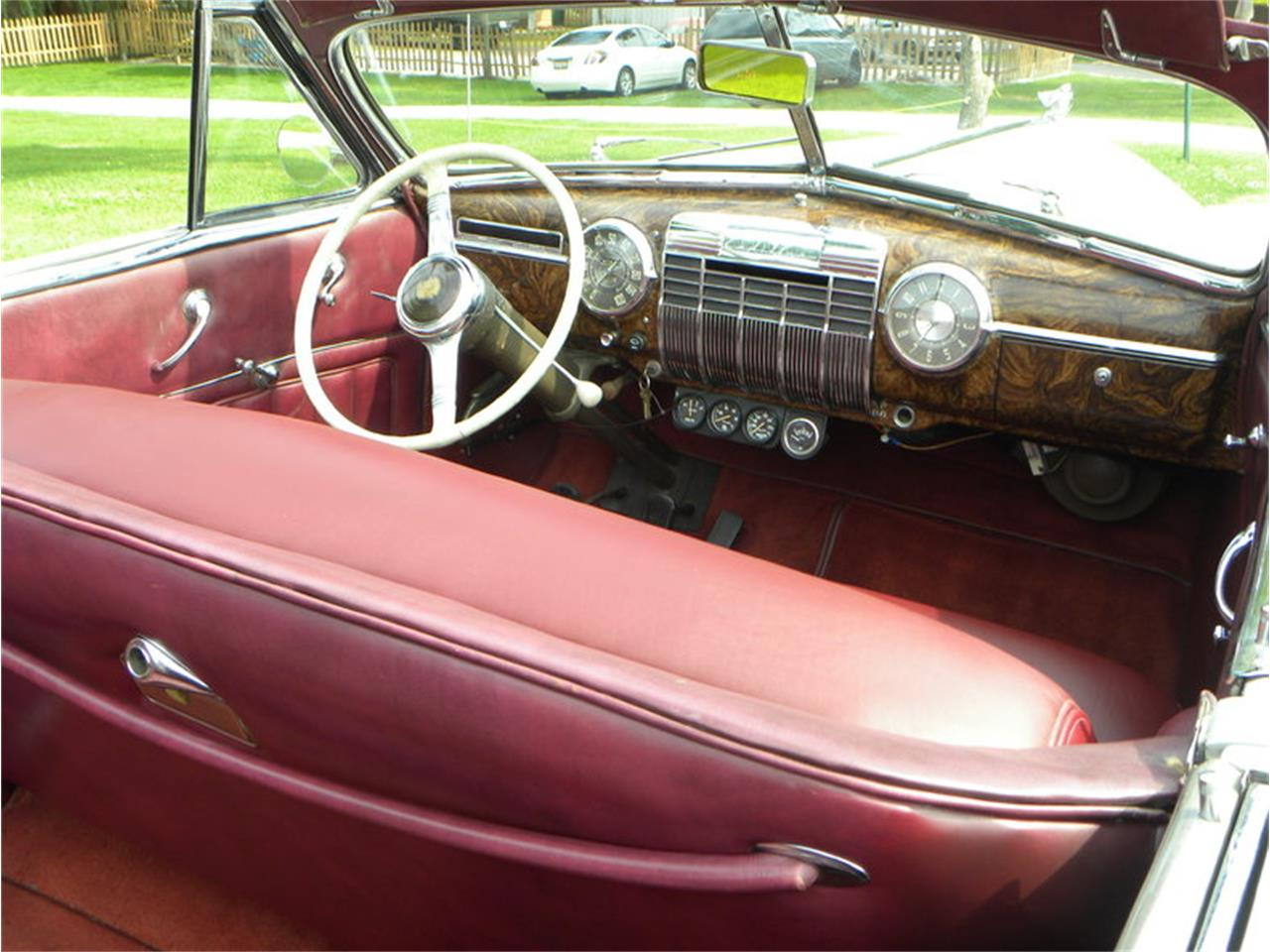 Large Picture of 1941 Cadillac Series 41-62 Convertible Sedan located in Illinois - $42,500.00 Offered by Volo Auto Museum - LGAA