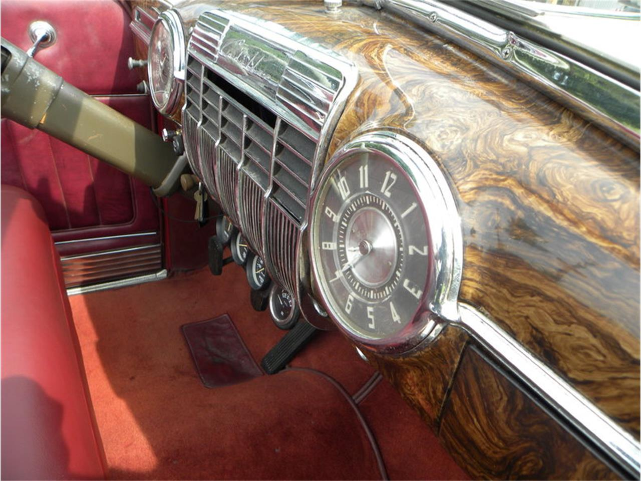 Large Picture of Classic '41 Cadillac Series 41-62 Convertible Sedan Offered by Volo Auto Museum - LGAA
