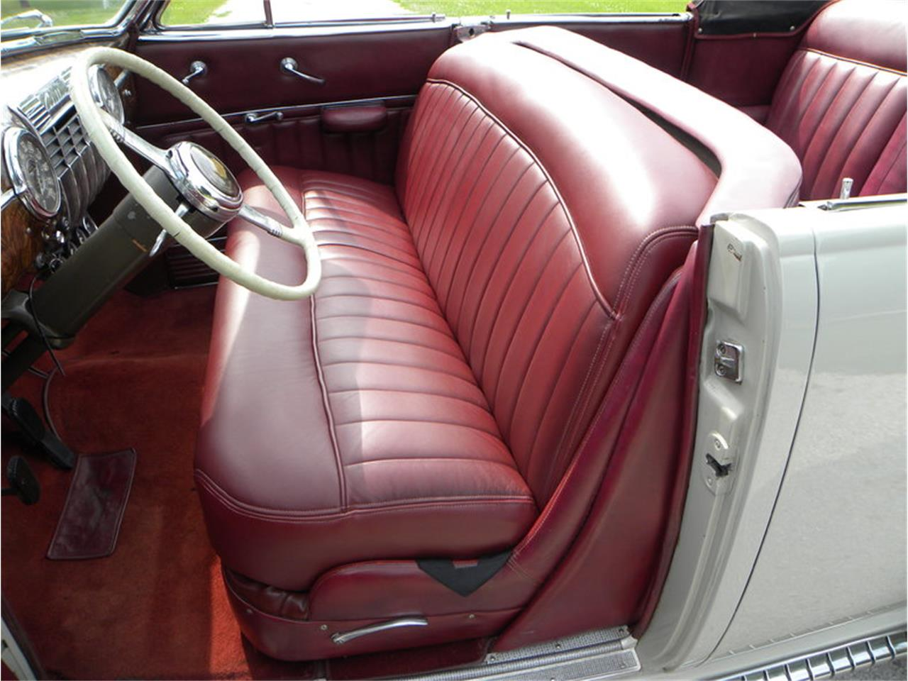 Large Picture of Classic 1941 Cadillac Series 41-62 Convertible Sedan - $42,500.00 Offered by Volo Auto Museum - LGAA