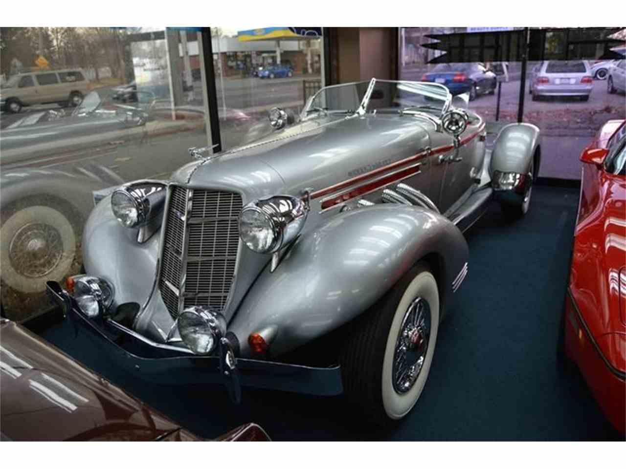 1936 auburn speedster for sale cc 1009051. Black Bedroom Furniture Sets. Home Design Ideas