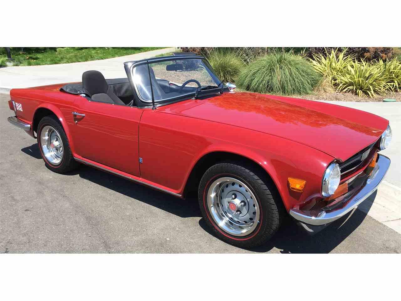 1973 Triumph TR6 for Sale | ClassicCars.com | CC-1009308