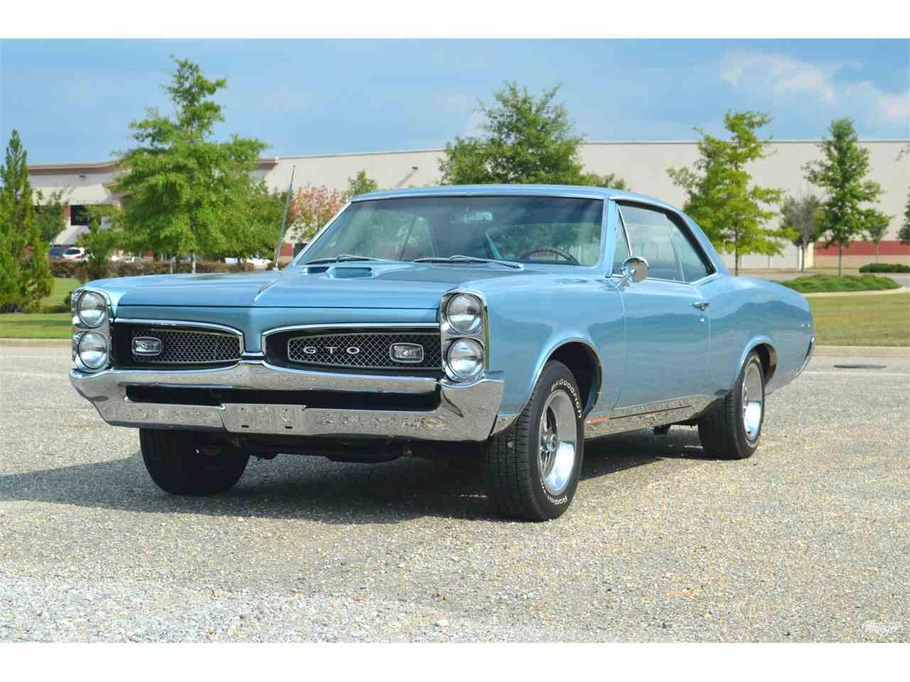 1967 Pontiac GTO for Sale | ClassicCars.com | CC-1009317
