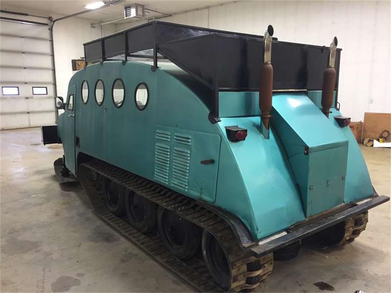 Autoneige 1940 auto neige bombardier wide gauge snowmobile for sale
