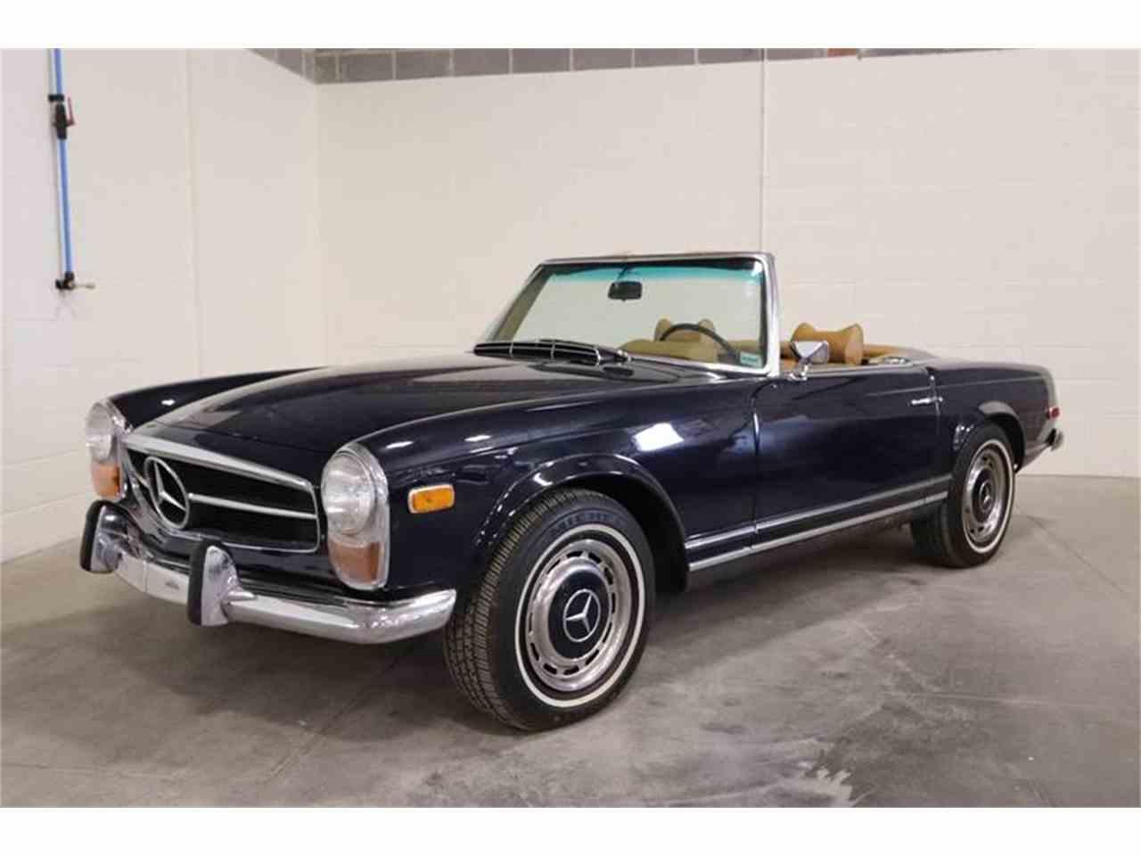 1970 mercedes benz 280sl for sale cc for Mercedes benz st louis missouri