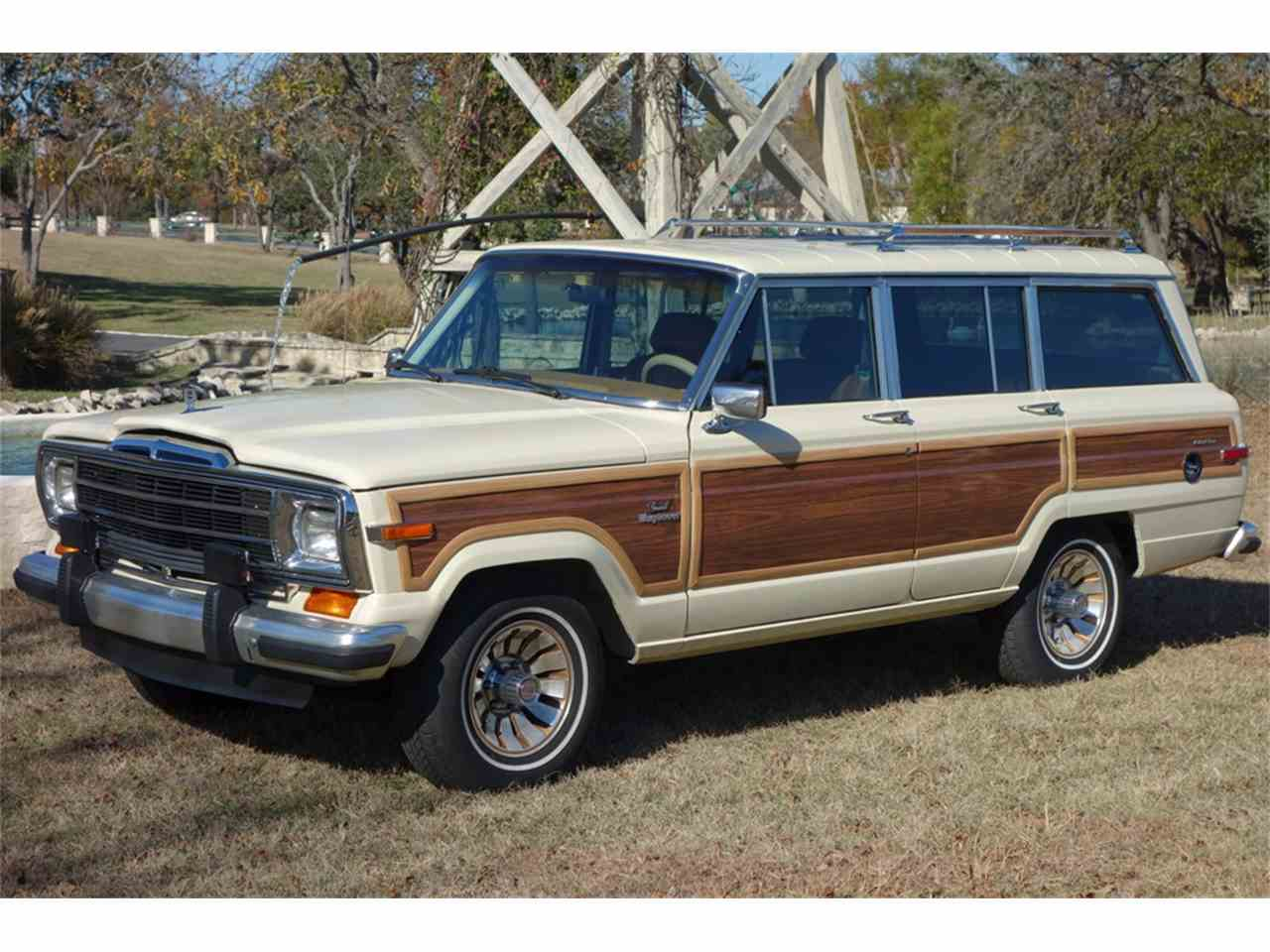 Jeep Wagoneer For Sale >> 1987 Jeep Grand Wagoneer for Sale | ClassicCars.com | CC
