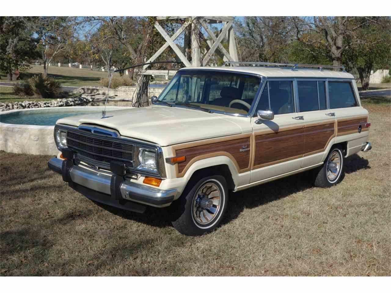 1987 jeep grand wagoneer for sale cc 1009630. Black Bedroom Furniture Sets. Home Design Ideas