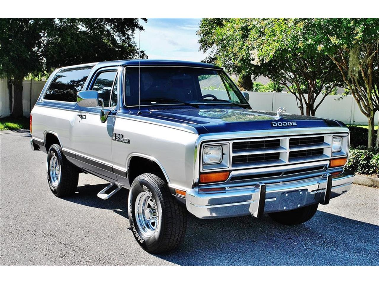 1988 Dodge Ramcharger For Sale Classiccars Com Cc 1011157