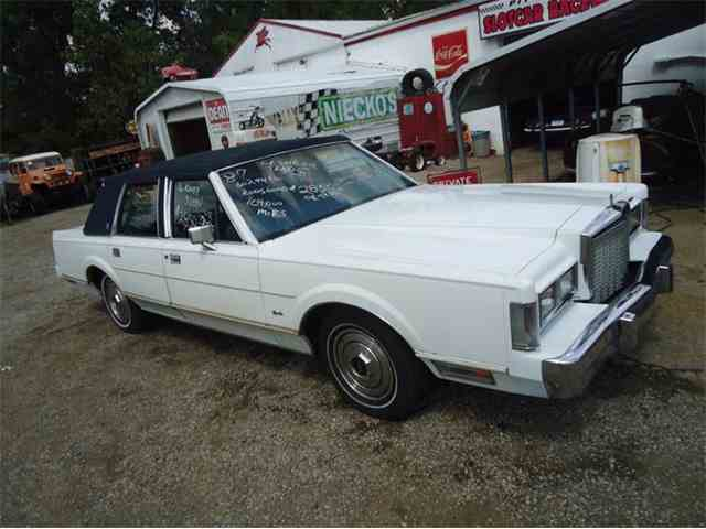 Picture of '87 Continental - LO8J