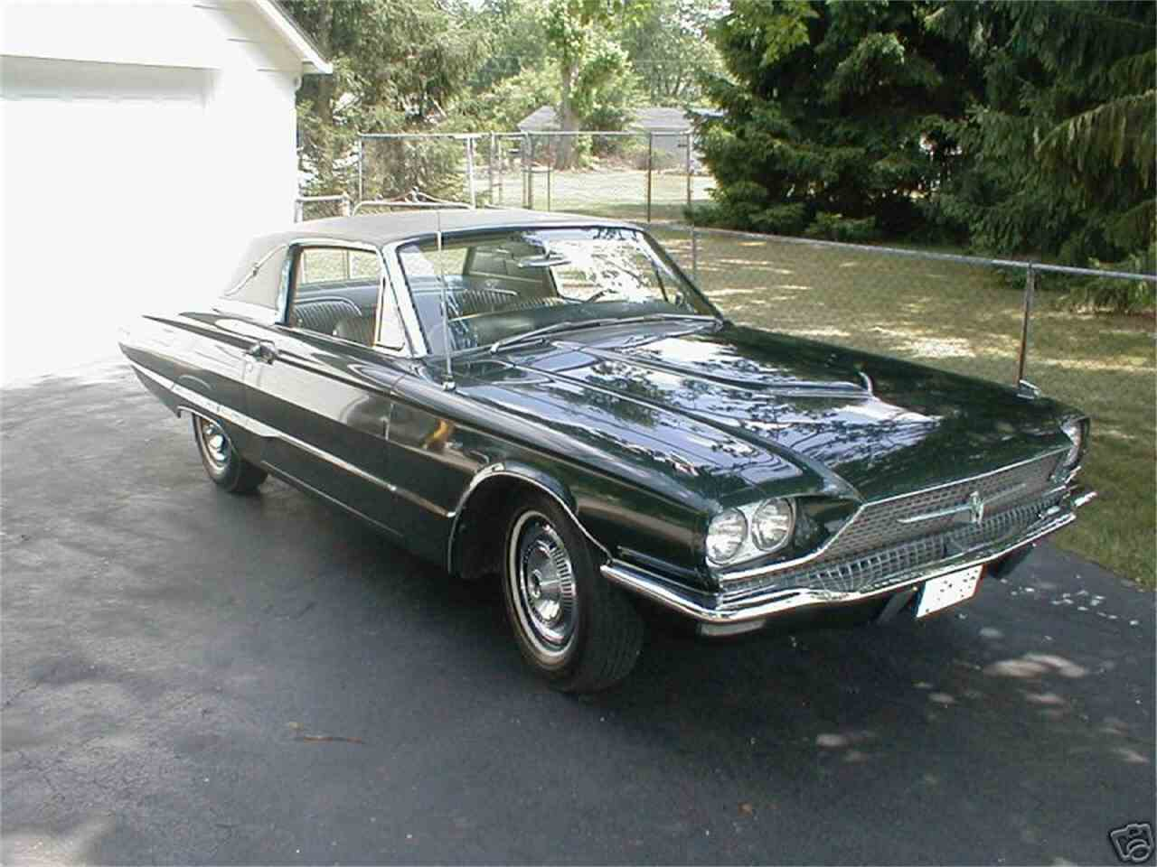 1966 ford thunderbird for sale cc 1011259. Black Bedroom Furniture Sets. Home Design Ideas