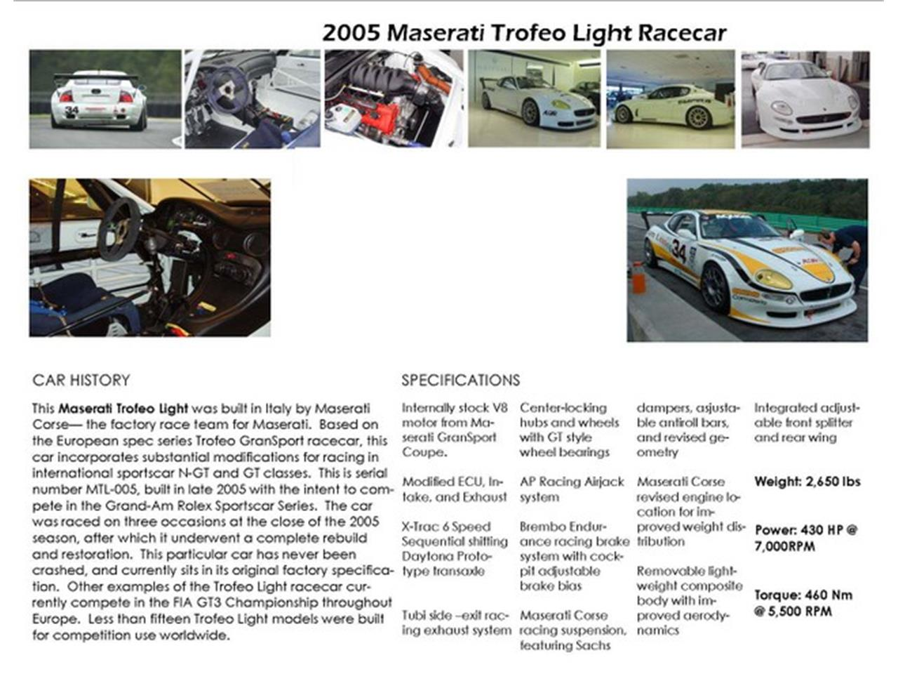 Large Picture of '05 Trofeo Light - LOAM