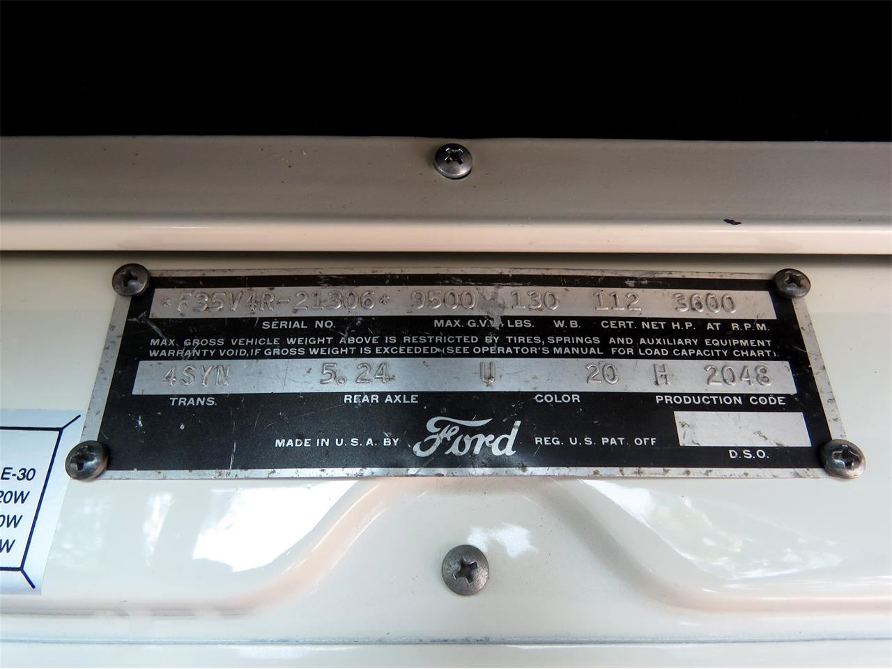 Large Picture of Classic '54 Ford F350 located in California Offered by Left Coast Classics - LOMU
