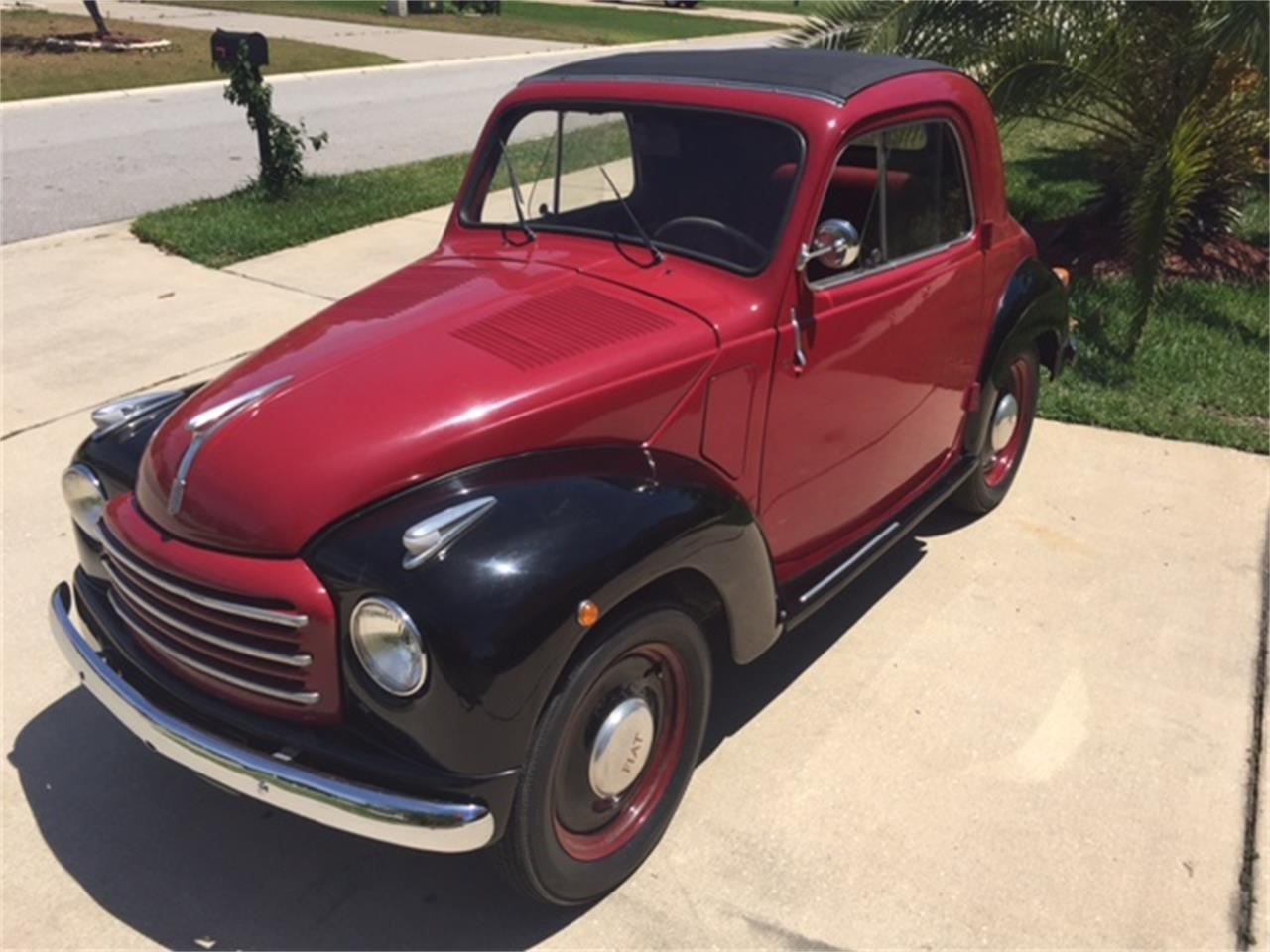 1954 Fiat Topolino Convertible For Sale Cc 1012049 500 Large Picture Of 54 Lowh