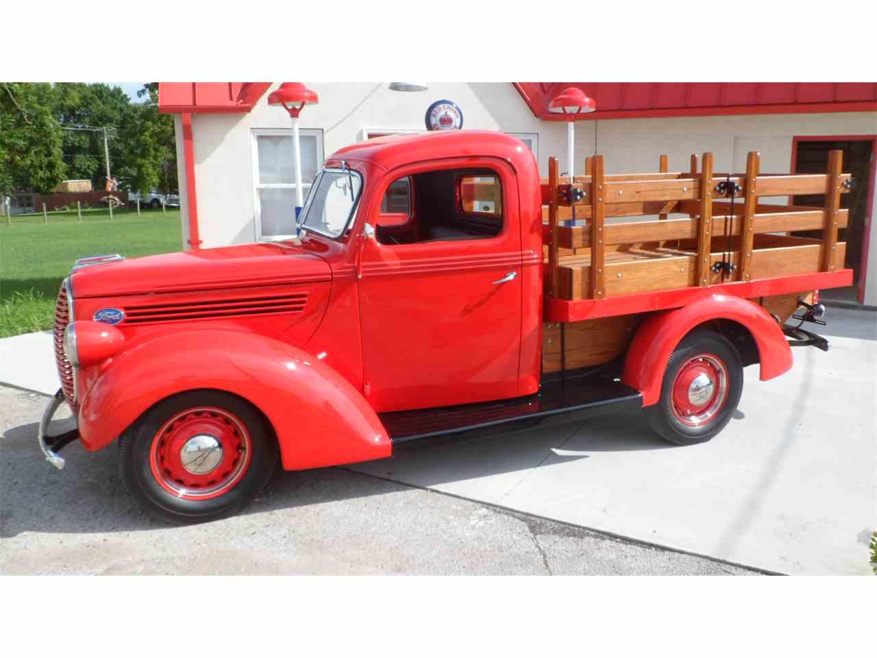 1939 ford platform stake truck for sale cc 1012706. Black Bedroom Furniture Sets. Home Design Ideas