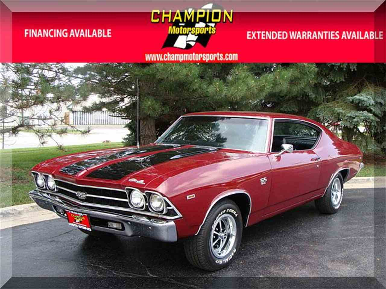 Large Picture of Classic '69 Chevrolet Chevelle located in Illinois - LPGH