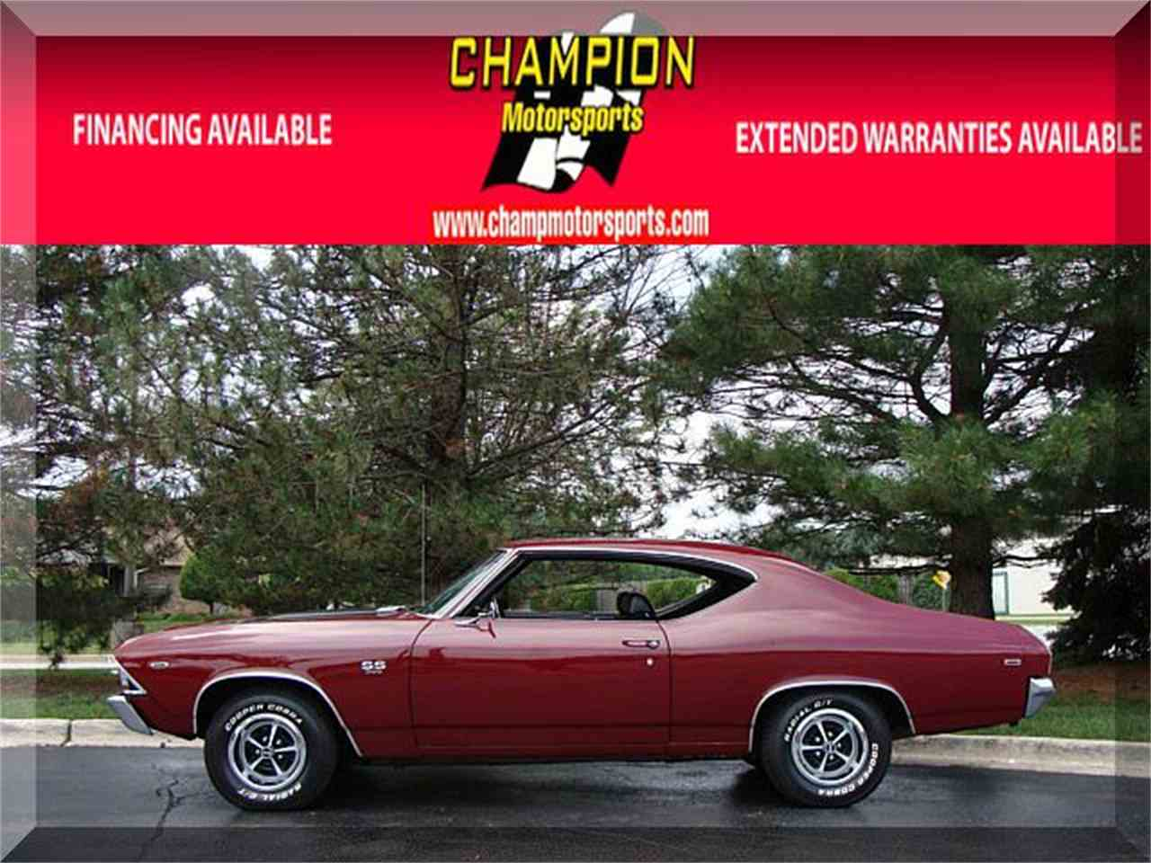 Large Picture of Classic 1969 Chevrolet Chevelle located in Crestwood Illinois - $32,995.00 Offered by Champion Motorsports - LPGH