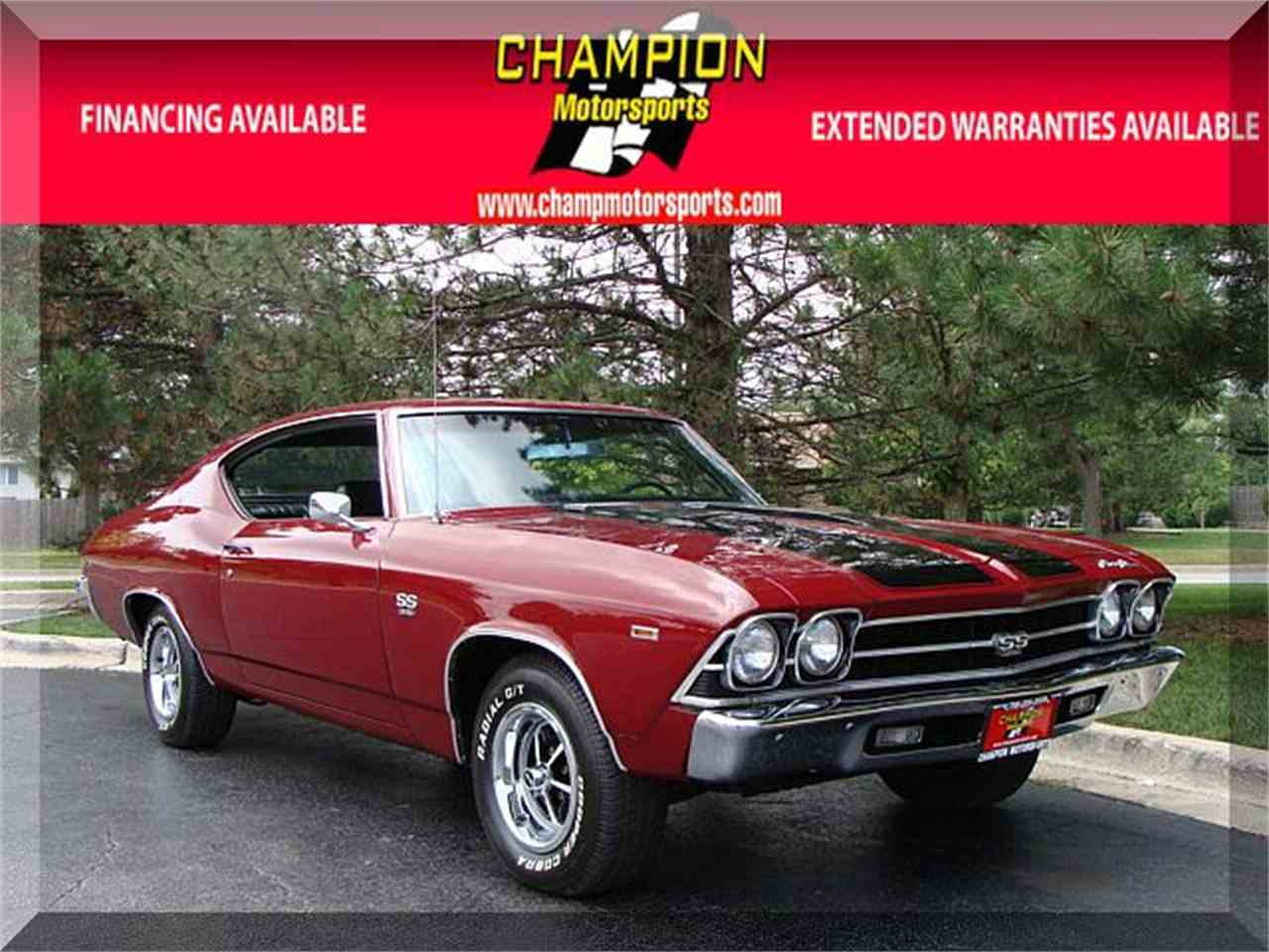 Large Picture of Classic '69 Chevelle - $32,995.00 Offered by Champion Motorsports - LPGH