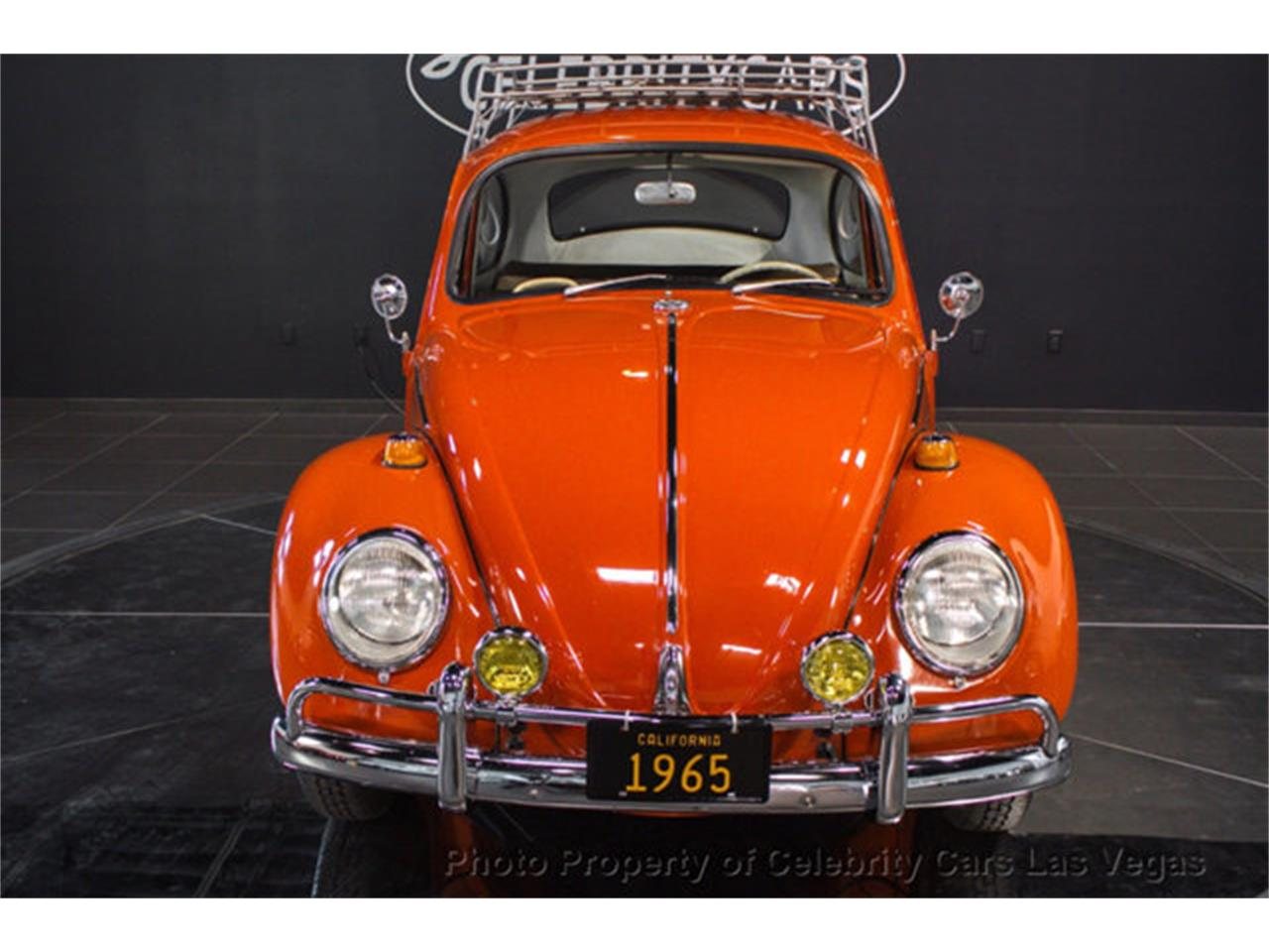 Large Picture of 1965 Volkswagen Beetle Offered by Celebrity Cars Las Vegas - LPJ7